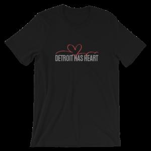 Detroit Has Heart | Bling T-Shirt